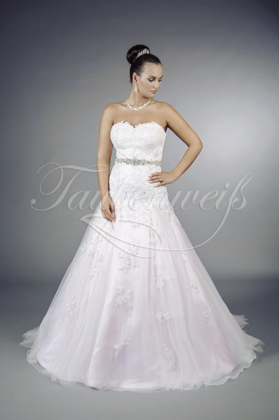 Maßgeschneiderte günstige Brautkleider von Taubenweiß
