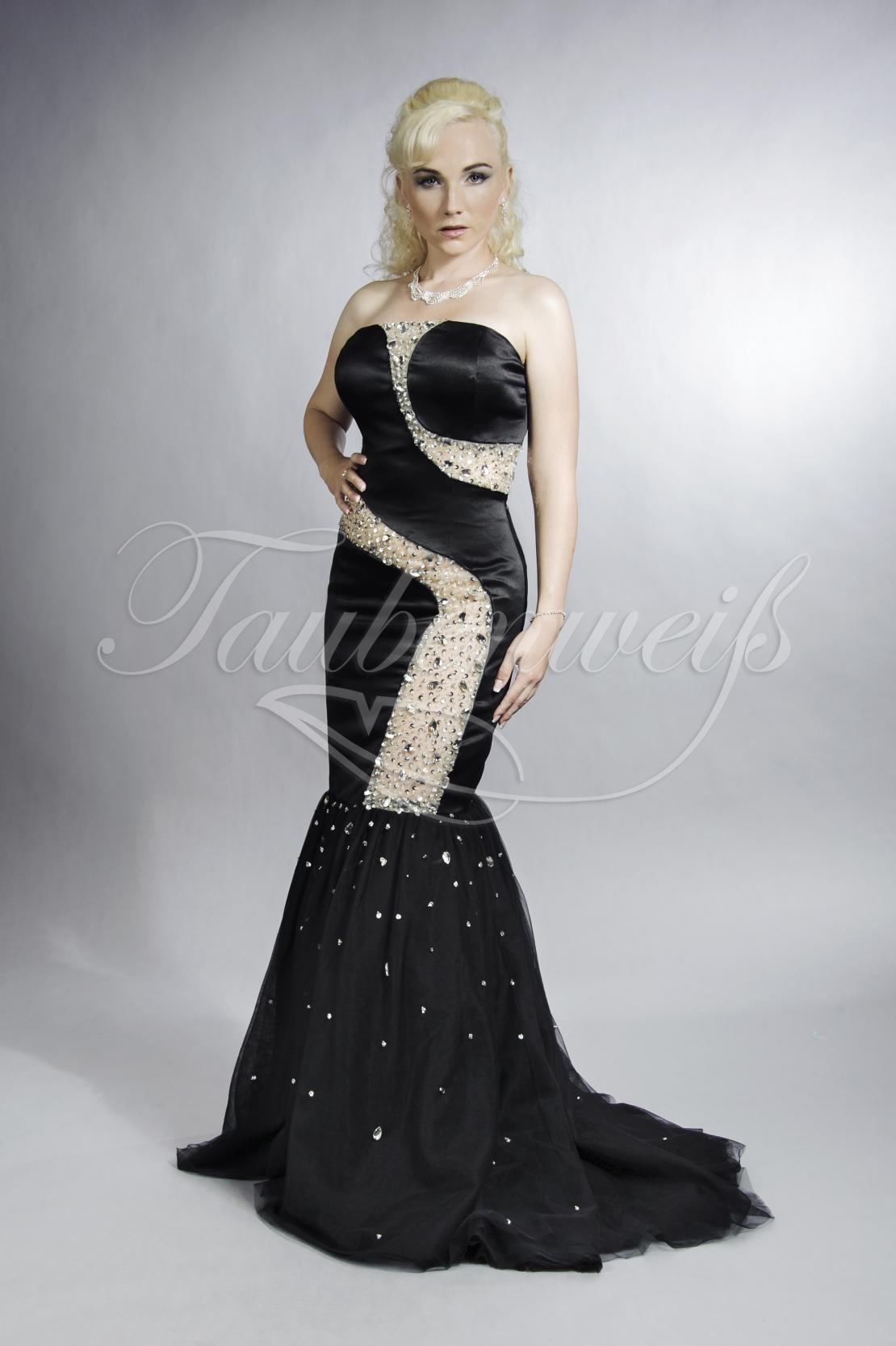 abendkleid tw0010a - abendkleid schwarz transparent perlen und pailleten  sexy gewagt