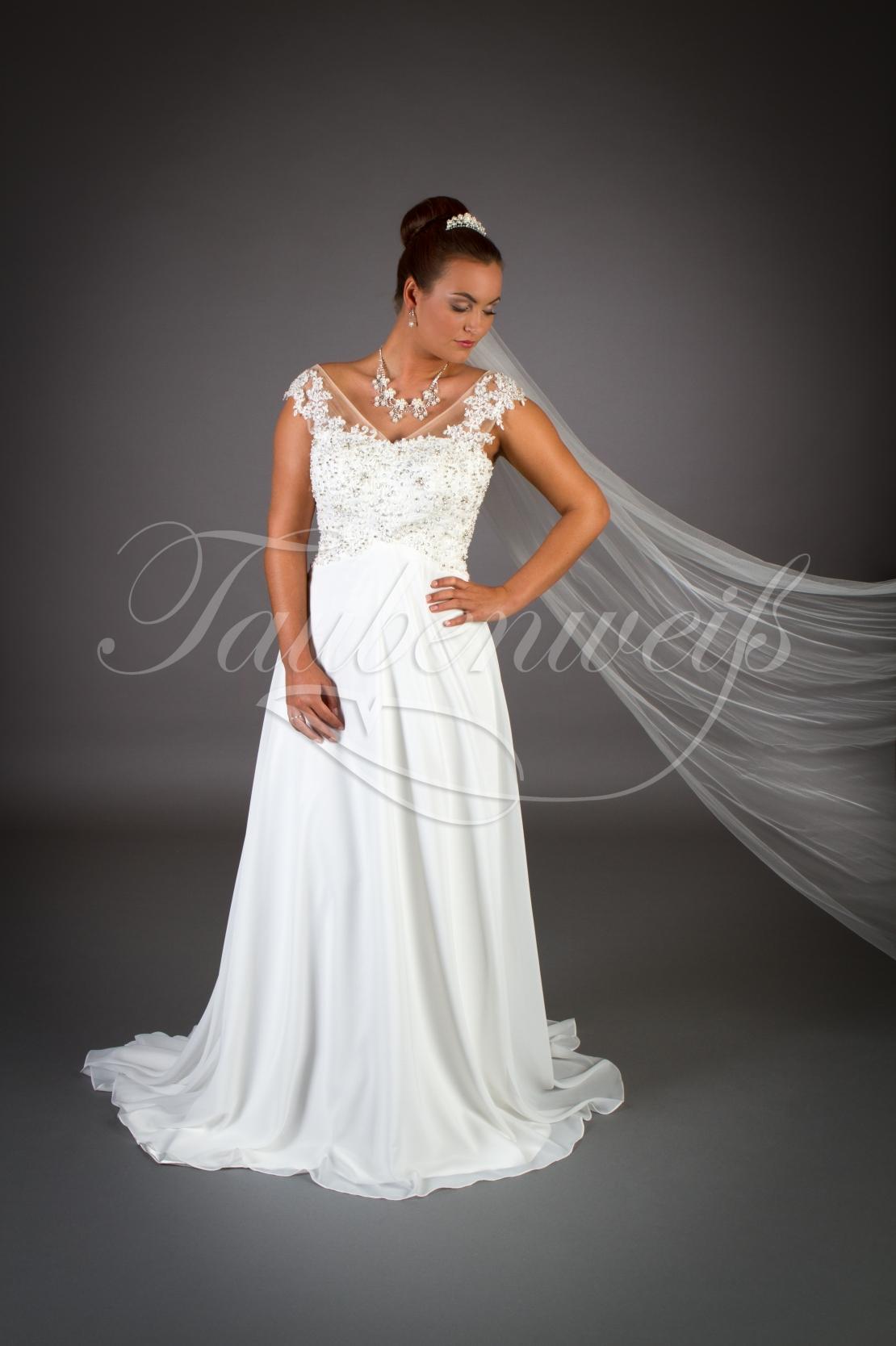 Brautkleid Tw0007b Vintage Brautkleid Aus Spitze Und Chiffon