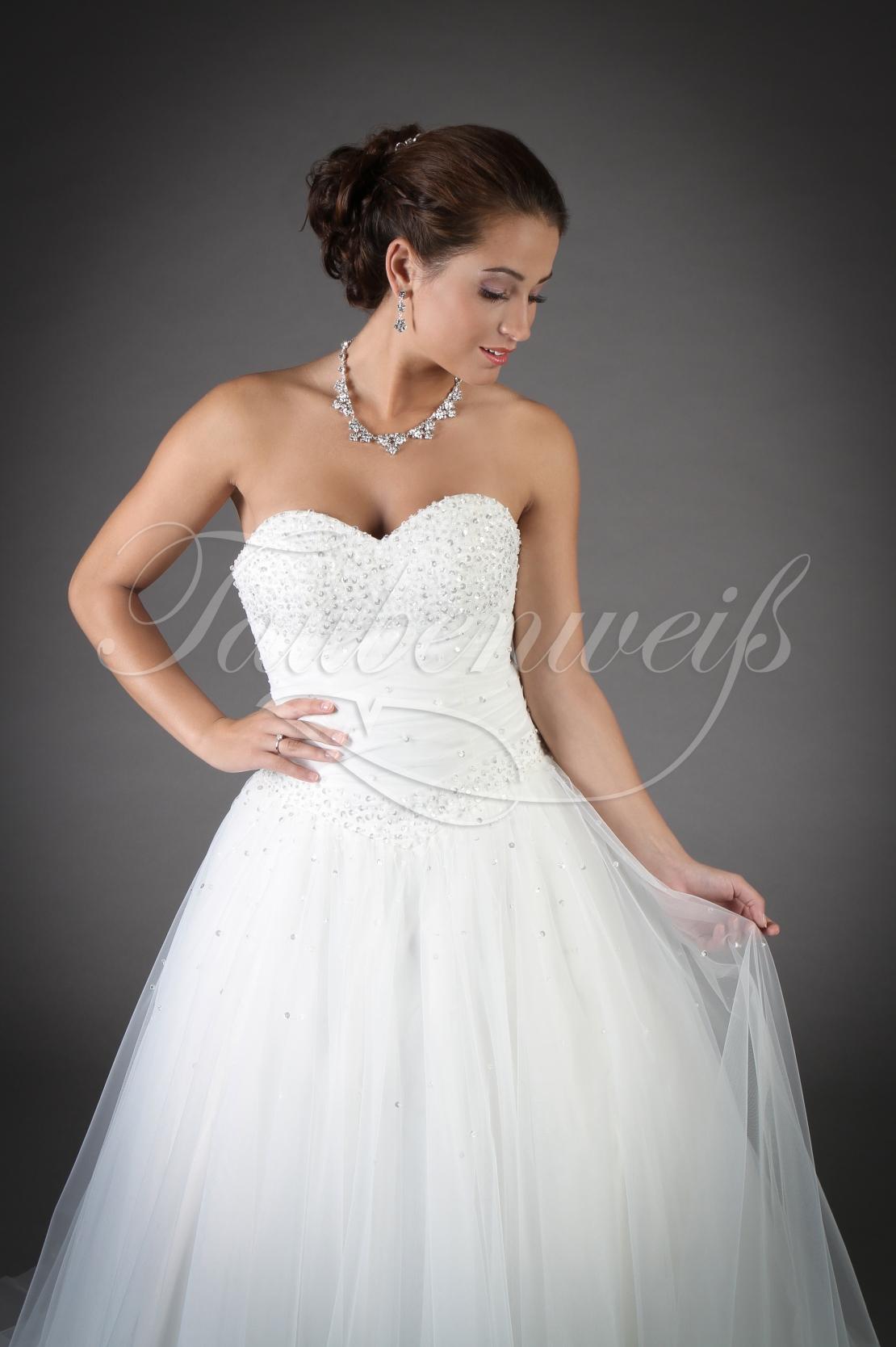 Tüll Brautkleid